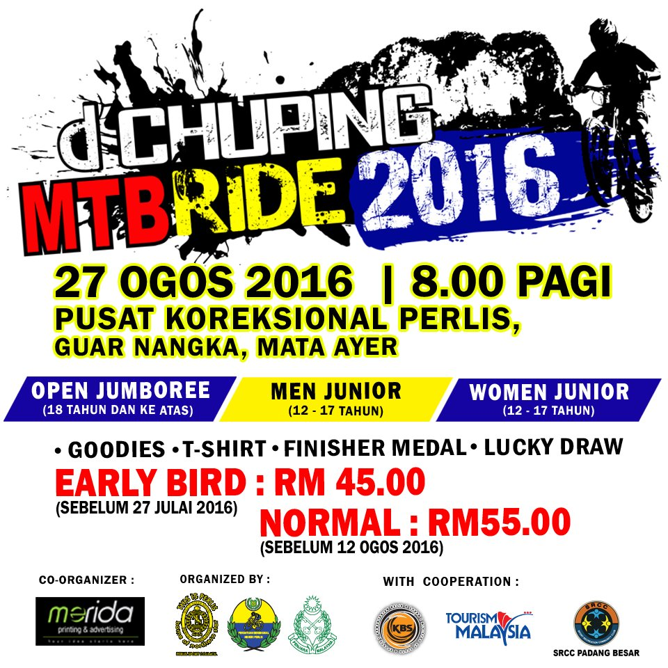 d'Chuping MTB Ride 2016